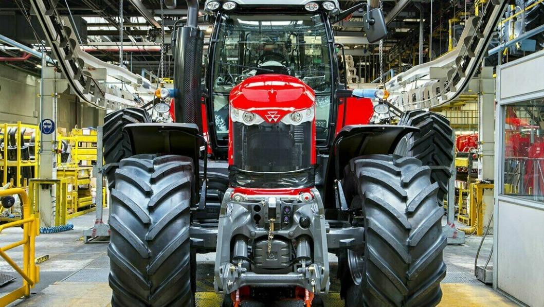 Produksjonen ved Agcos fabrikk i Beauvais (Frankrike), som lager Massey-Ferguson-traktorer for det det Europeiske markedet, er stoppet på frunn av Covid-19-pandemien.