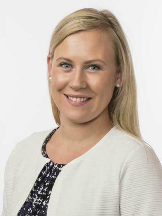 Lene Vågslid (Ap), leder i Justiskomiteen, roser NLF for gode innspill. Foto: Stortinget