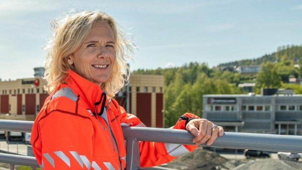 May Bente Hiim Sindre er prosjektleder for E16 Sandvika-Skaret-Høgkastet.