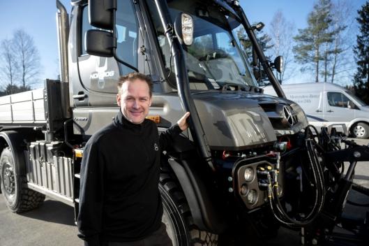 Espen Berger er Unimog-entusiast på sin hals, og i praksis er alt han leverer spesialkjøretøy.