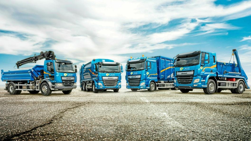Paccar-konsernet produserer blant annet DAF-lastebiler.
