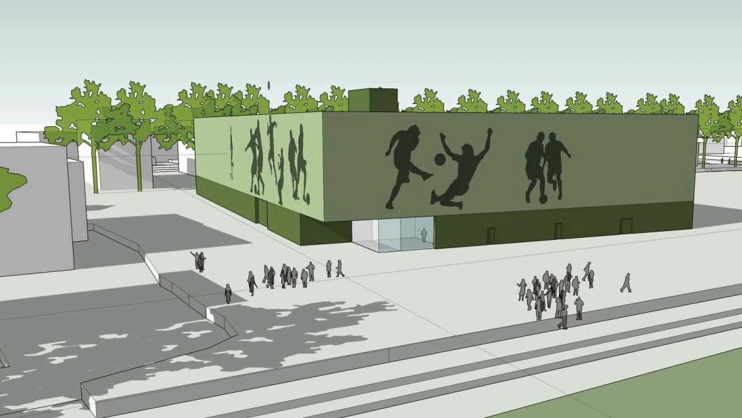 Åssiden fotballhall skal bygges og åpnes i 2020.