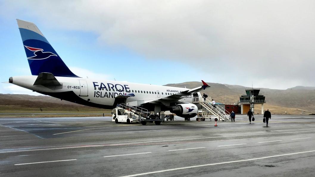 NCC sendte tirsdag 14. april tunnelmannskap med charteret fly til Færøyene. Bildet er fra da mannskap ble hentet fra Færøyene før påske.