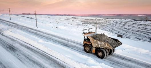Tipptrucker i Sverige skal kjøres på norsk strøm