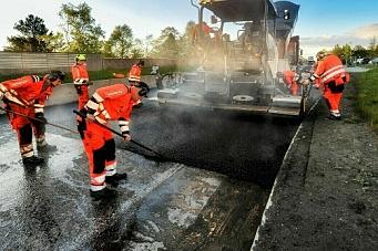 I Midt-Norge vinner klima-asfaltentreprenørene