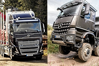 Volvo Group og Daimler Truck danner selskap
