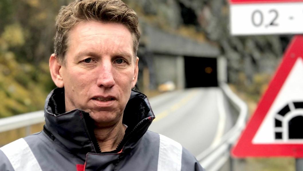Byggeleder Edvin Rye i Statens vegvesen håper at interessen vil være like stor for E16 Kvamskleiva nå som første gang prosjektet ble lyst ut.