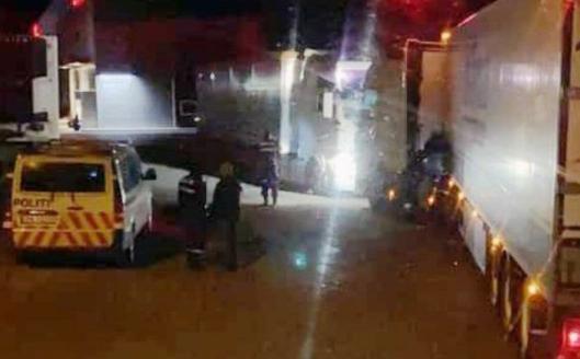 Politiet kom og skal ha gitt et forelegg og utvist mannen, ifølge Gunnar Moum.