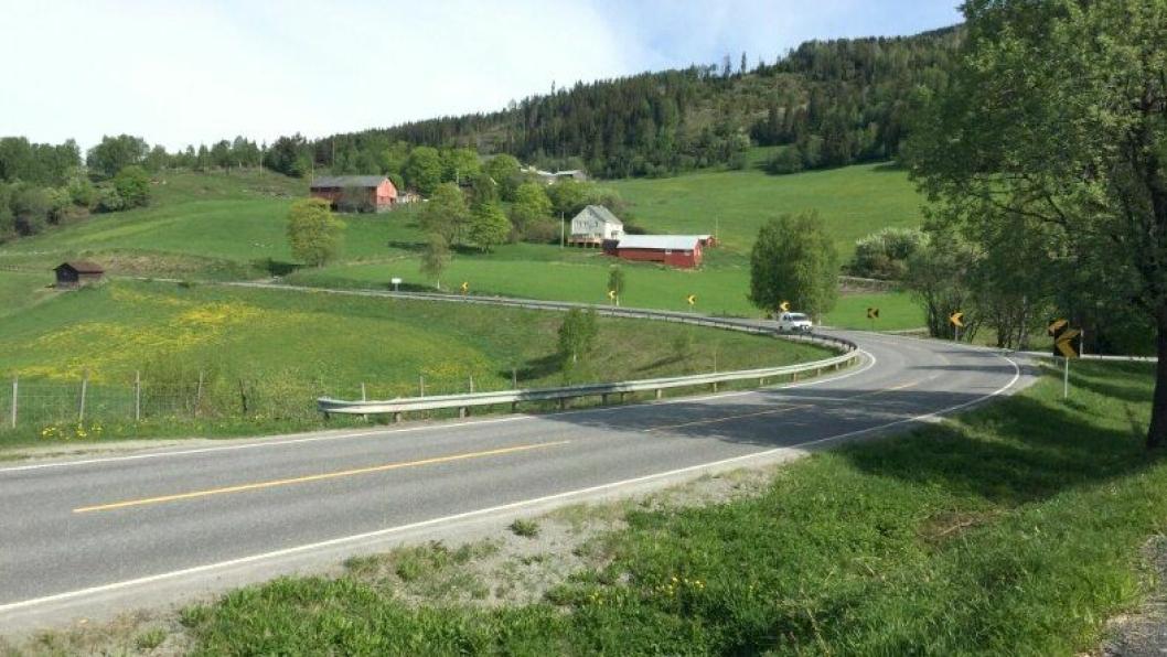 Reiensvingen på E16 er et av de ulykkesutsatte punktene på strekningen Fagernes-Øylo som skal utbedres for å gi trafikantene en mer trafikksikker vei med bedre fremkommelighet.