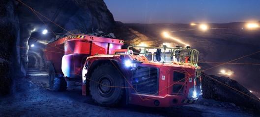 Selvkjørende gruvedumpere fra Sandvik
