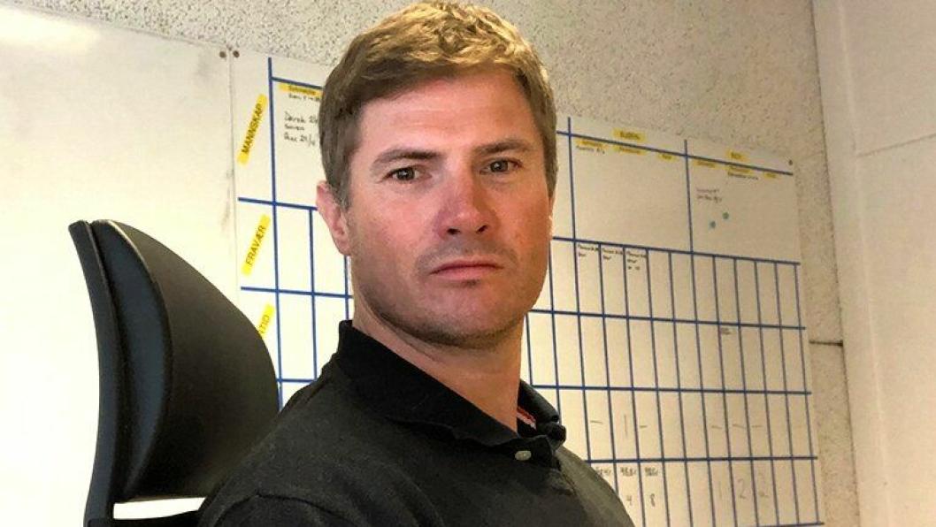 Ståle Sagstuen er påtroppende direktør i Optimera Byggsystemer.