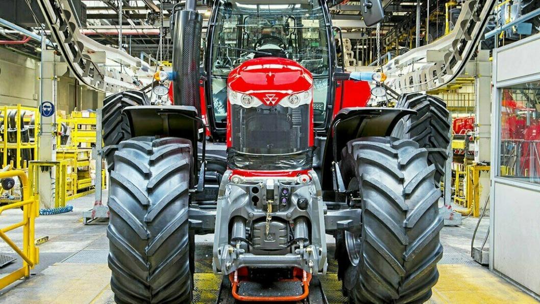 Agcos Massey-Ferguson-fabrikk i Beauvais i Frankrike startet opp med produksjon igjen 27. april.