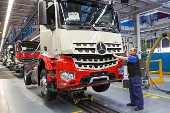 Daimler har startet produksjonen igjen