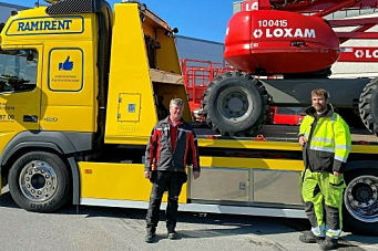 Ramirent satser i Stavanger