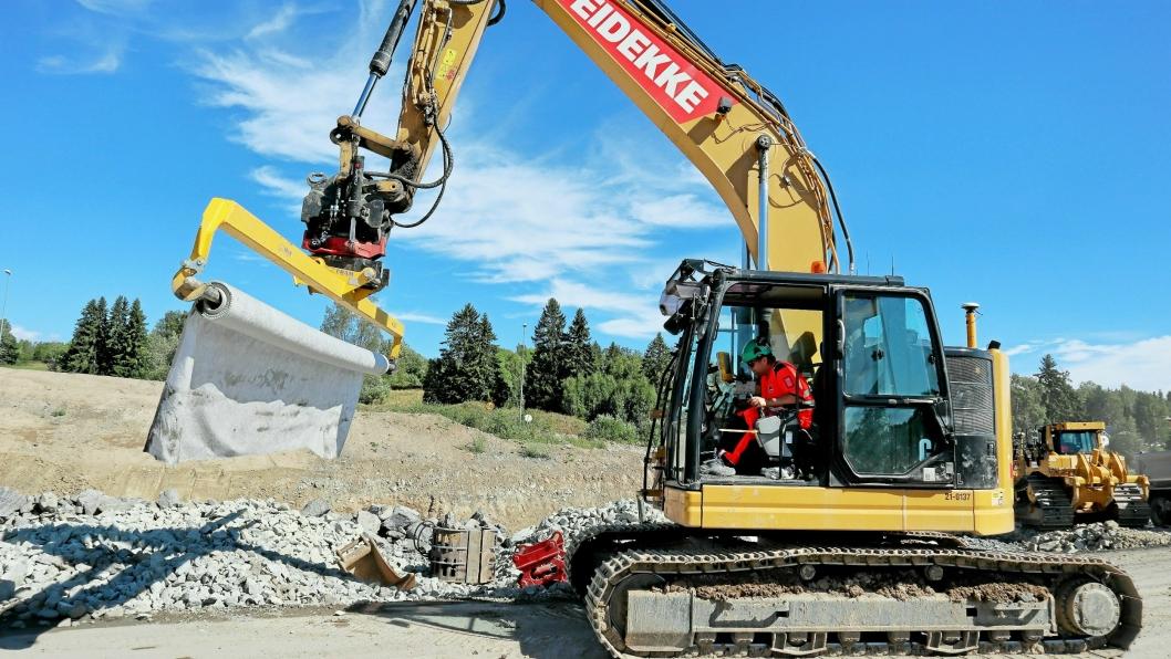 Veidekke Anlegg og Veidekke Industri slås sammen til Veidekke Infrastruktur i Norge.