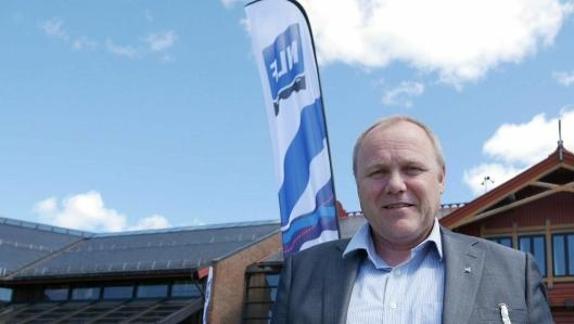 NLFs regionsjef Roar Melum i Trøndelag er svært forføyd med regelendringen for modulvogntog som nå kommer. Foto: Per Dagfinn Wolden