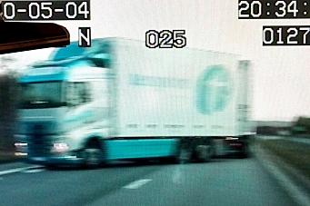 Lastebilsjåfør sikret politi-jobb