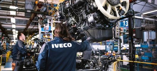 Iveco starter produksjon i Italia og Spania igjen