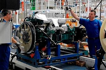 Volvo Trucks-fabrikkene starter opp igjen