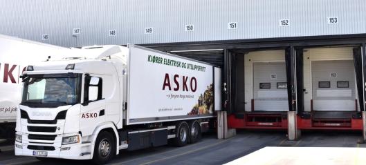 Asko har bestilt 55 elektriske Scania-er