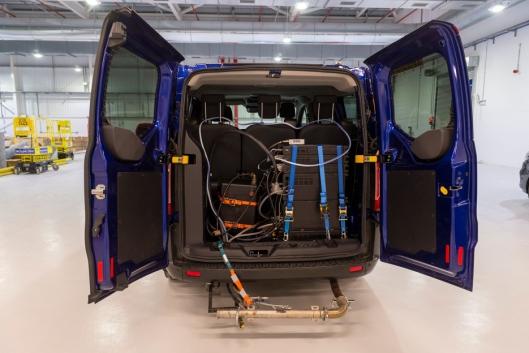 Både landevei og laboratorium tas i bruk når bilene skal avgass-testes. (Foto: Ford)