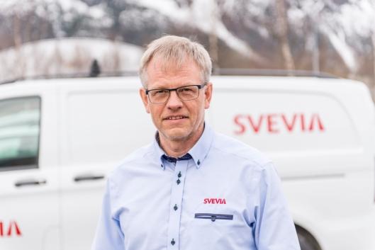 Lars Reitan er daglig leder for Svevia Norge AS.