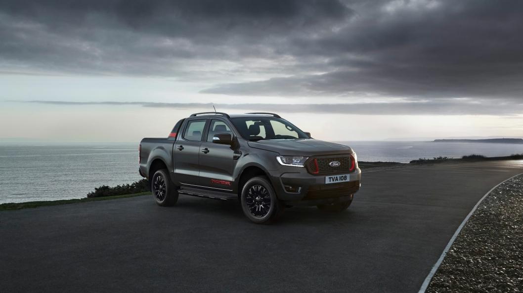 Ny versjon av Ford Ranger, Thunder kommer til landet på sensommeren.