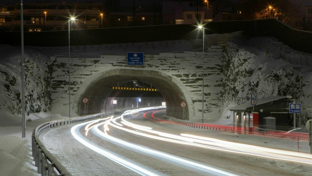 Harstadåstunnelen.