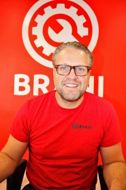 - Entreprenørbransjen må i likhet med andre bransjer bli mer miljøvennlige, uten at vi øker veikostnadene, sier Per-Kristian Arentz-Nilsen, daglig leder i Brani.