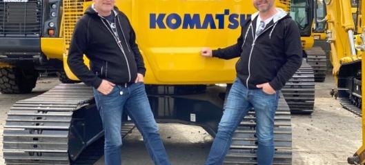 Ny selger i Hesselberg på Komatsu og Bomag