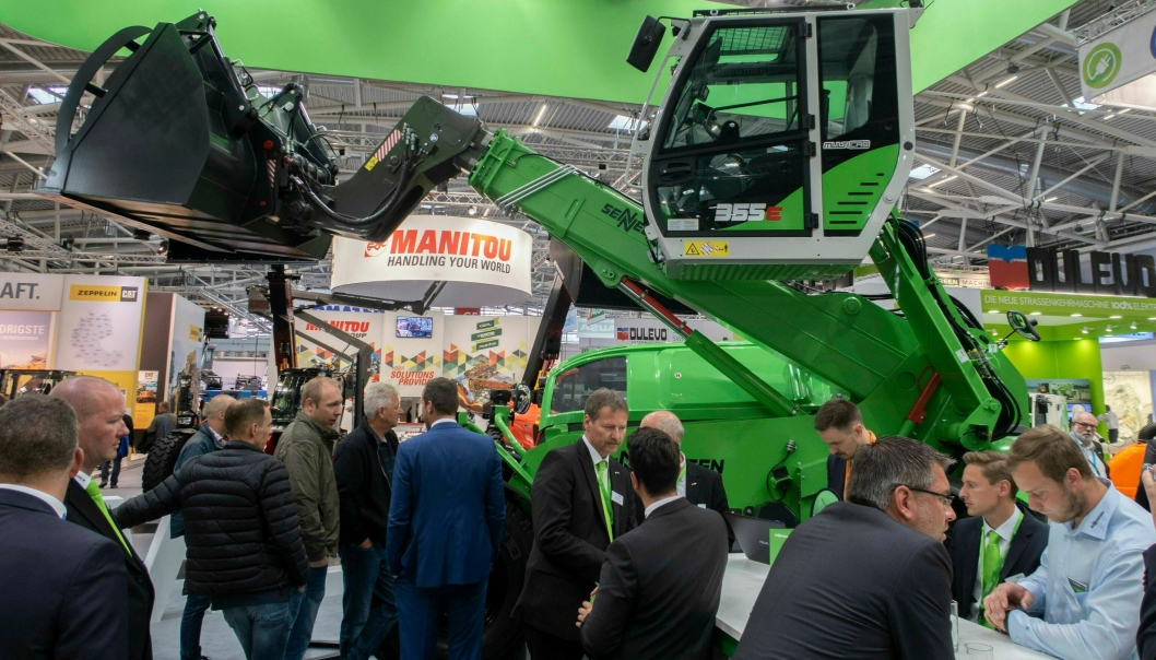 Bilde fra IFAT 2018 i München.