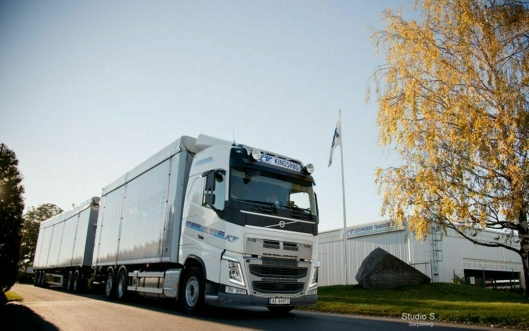 Kingsrød Transport er i dag Norges største familieeide transportselskap.