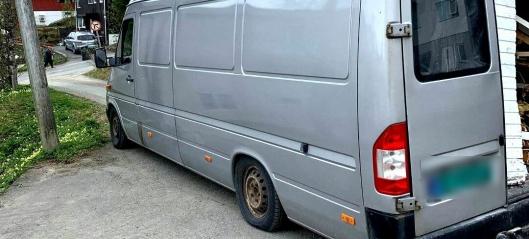 Politiet stoppet varebil som veide over 8 tonn