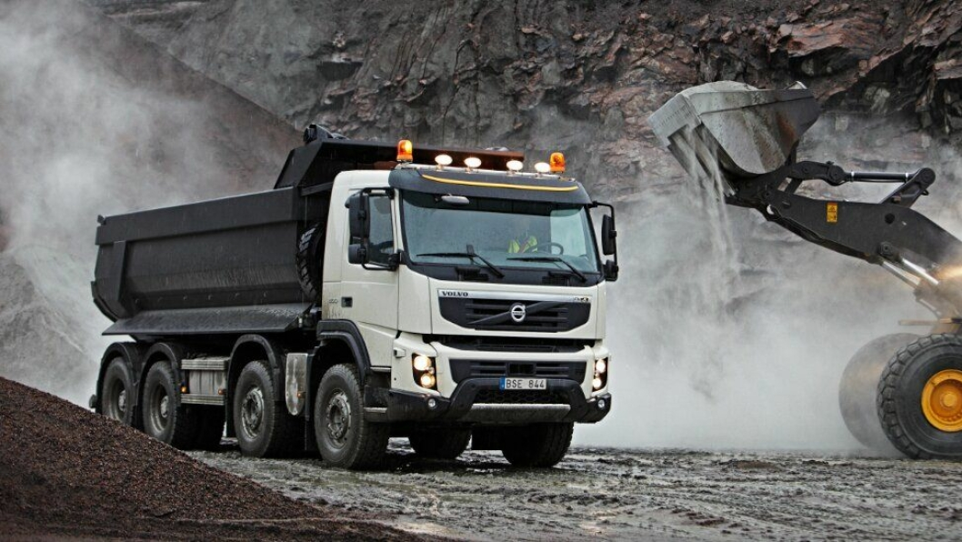 Volvo FMX 2010.