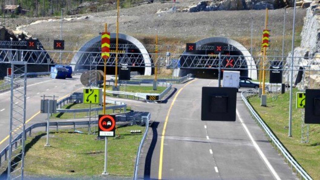Ny E134 gjennom Kongsberg åpner 3. juli klokken 14, men bompengeinnkrevingen starter først mandagen etter klokken 10.