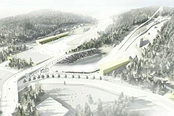NCC skal bygge nye Granåsen Idrettspark