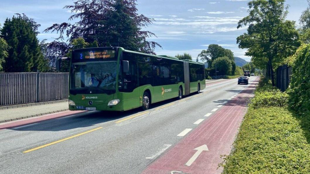 Snart starter bygging av Bussveien på Gausel i Rogaland.