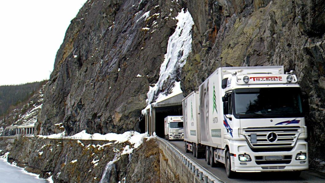 Den rasutsatte strekningen ved E16 Kvamskleiva i Valdres skal erstattes med en tunnel på 1,8 km.