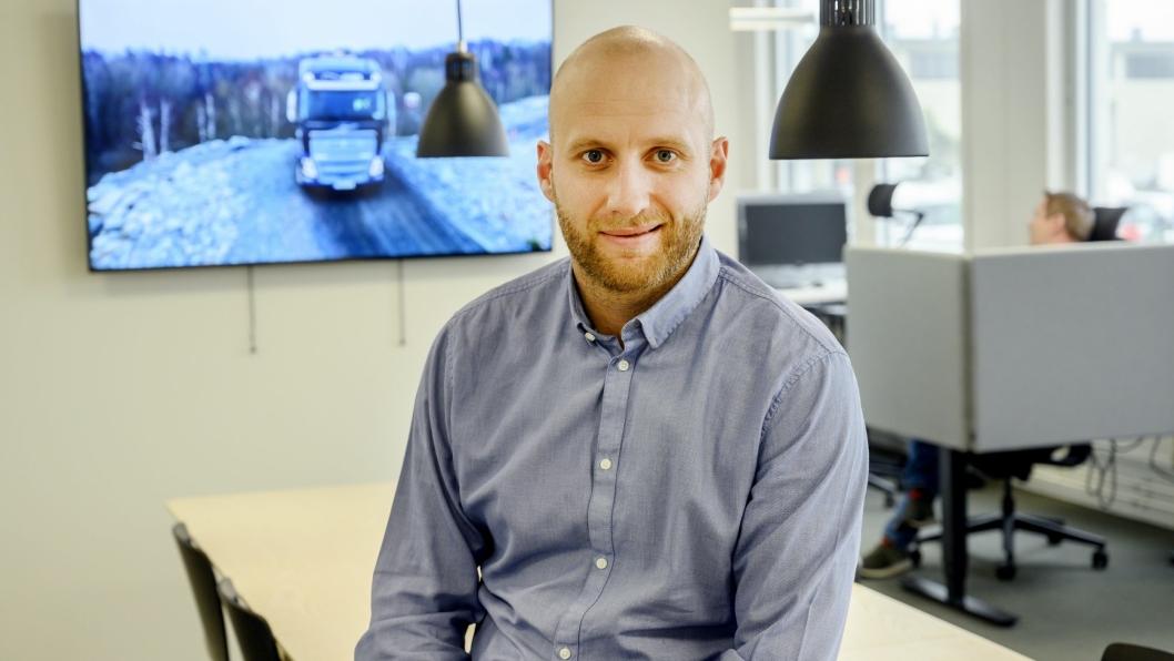 Karstein Ahlin er blitt adm. direktør i Volvo Norge.