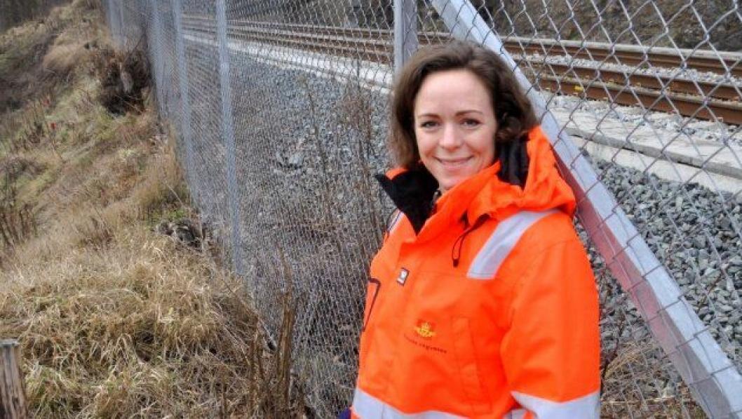 Katinka Stenstad er Statens vegvesens byggeleder for denne kontrakten.