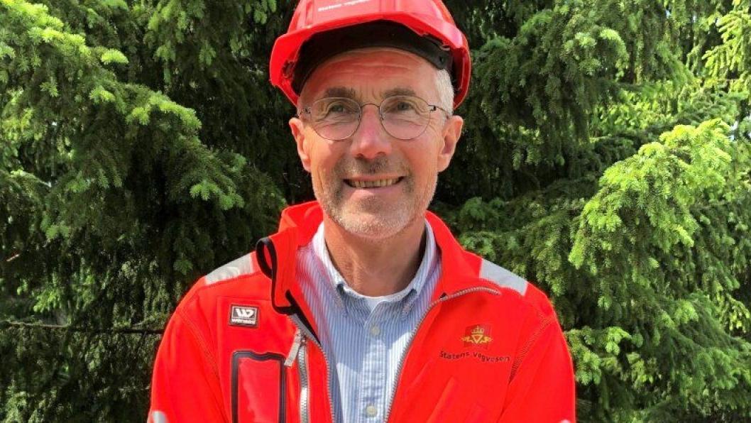 Arvid Veseth er en erfaren veibygger. Det kommer godt med på et prosjekt til flere titalls milliarder kroner.