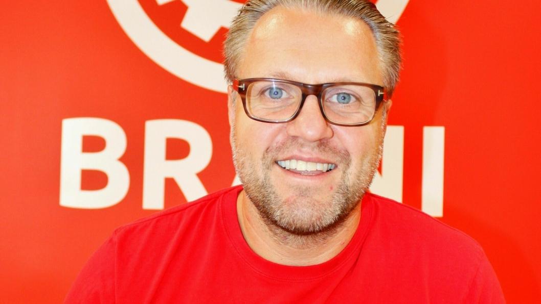 Per-Kristian Arentz-Nilsen, daglig leder i Brani AS, er strålende fornøyd med at selskapets satsing bærer frukter.