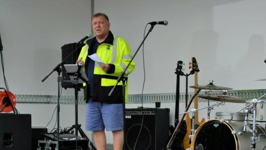 – Uten lastebilen stopper Norge – uten lærlingen stopper lastebilen, understreket NLF-sjef Geir A. Mo da han entret scenen på Last Vegas-showet denne uken.