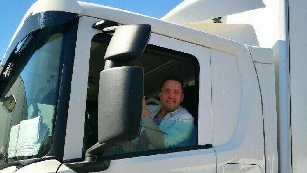 Trond Snesrud sitter i førersetet i Cargotron som eier og daglig leder.