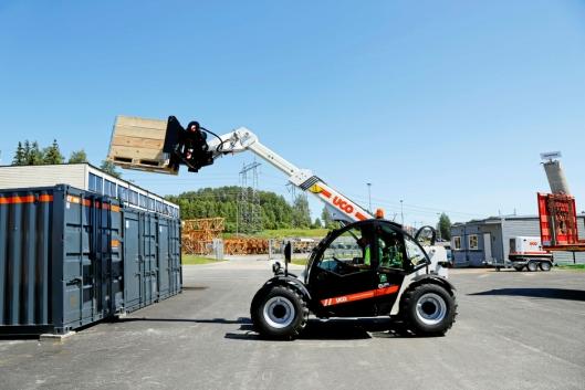 FØRSTE: Italienske Faresin skal være den første produsenten som leverer batterielektriske teleskoptrucker.