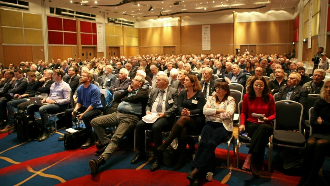 TRADISJON: Det glade budskap fra NFF-leder Anne Katrine Kalager er at Fjellsprengningskonferansen fortsetter på «SAS-hotellet». Sett av 26. og 27. november i kalenderen.