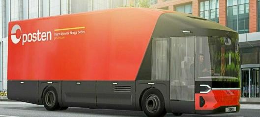 Posten i samarbeid om el-lastebil