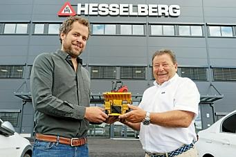 Andreas Corwin blir konsernsjef i AS Sigurd Hesselberg
