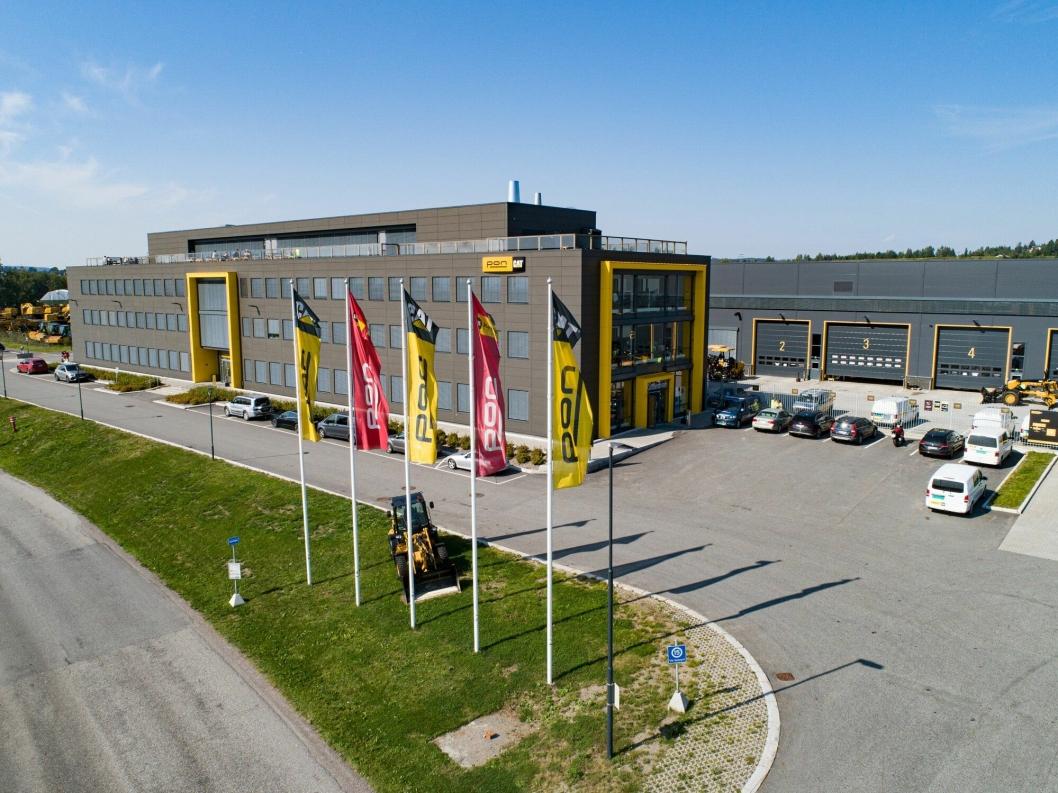PON HQ: Hovedkontoret til Pon ligger på Berger, mellom Oslo og Gardermoen.