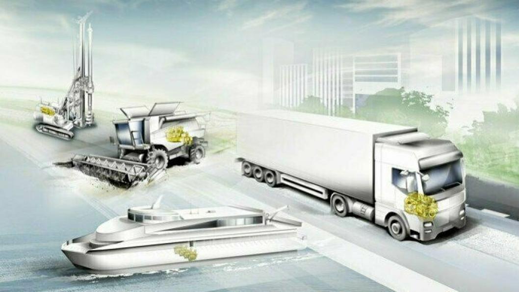 reThink&reFuel: Med dette slagordet understreker Liebherr at selskapet er i ferd med å utvikle alternative innsprøytningskonsepter for H2 og E-drivstoffer.